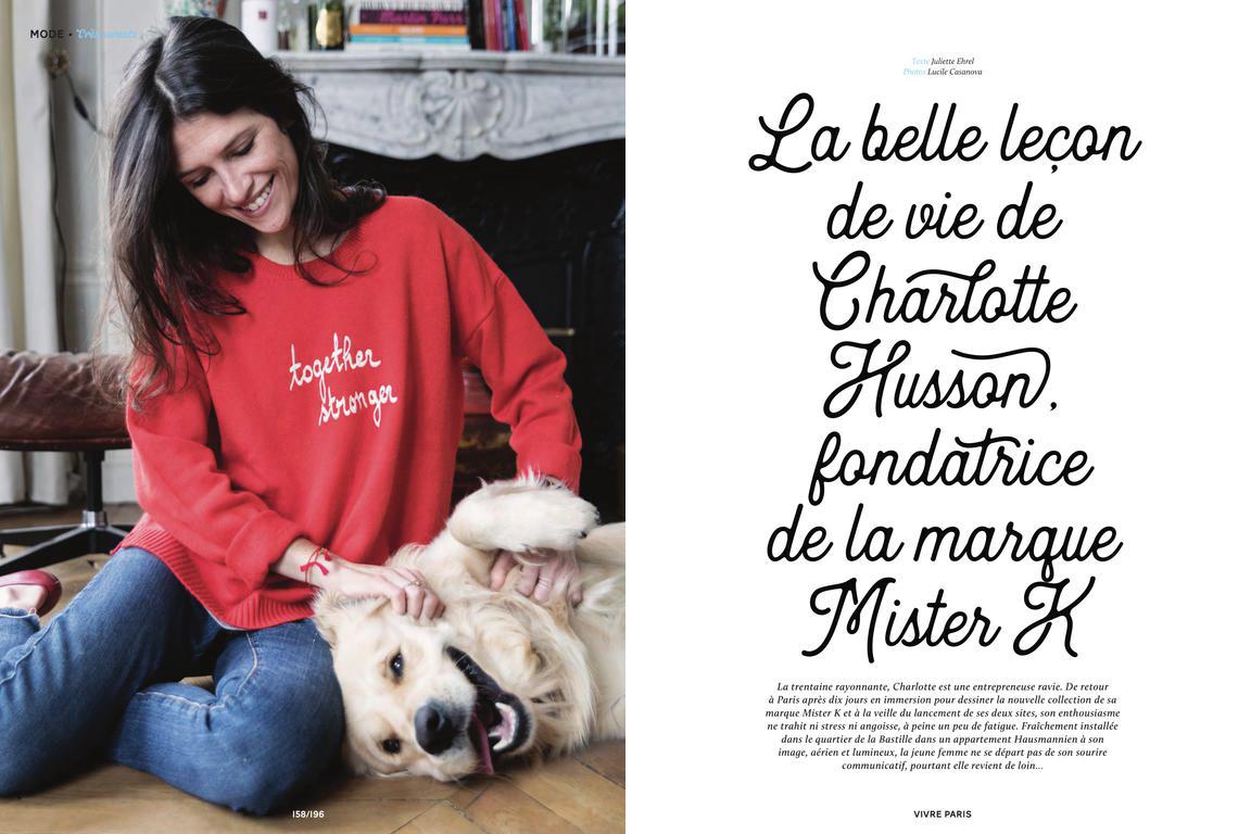 Publication   Vivre Paris Mars 2018